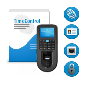 Биометрическая система контроля доступа по отпечаткам пальцев TimeControl Factory Pass