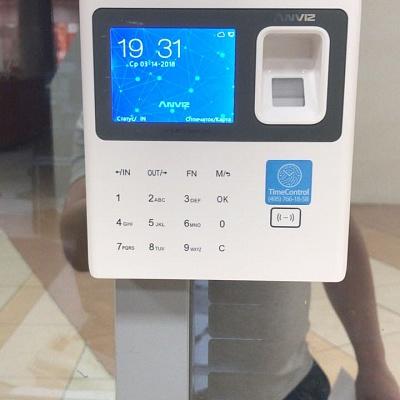 Биометрический терминал учета